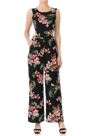 Ambiance Eden Tie-Back Jumpsuit - Front cropped