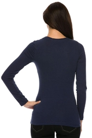 Ambiance Long Sleeve Crew-Neck Tee - Side cropped