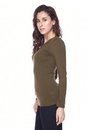 Ambiance Long Sleeve Crew-Neck Tee - Back cropped