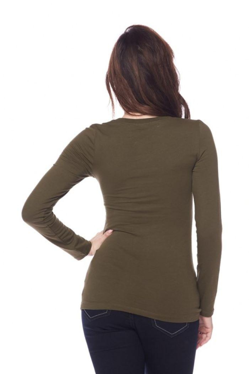 Ambiance Long Sleeve Crew-Neck Tee - Side Cropped Image