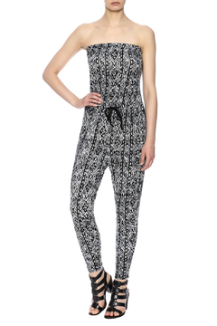 Ambiance Printed Tube Jumpsuit - Product List Image