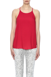 Ambiance Red Keyhole Top - Side cropped