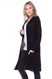 Ambiance Ribbed Duster Cardigan - Front full body