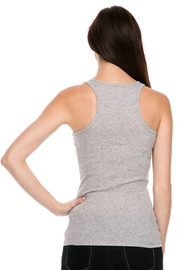 Ambiance Ribbed Racer Back Tank Top - Other
