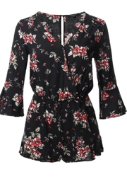 Ambiance Surplus Floral Romper - Product Mini Image