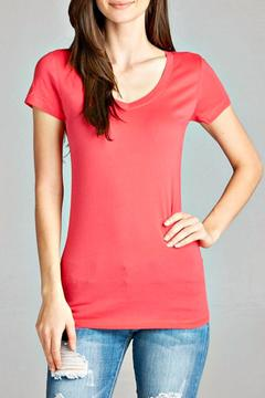 Shoptiques Product: Coral Basic Tee