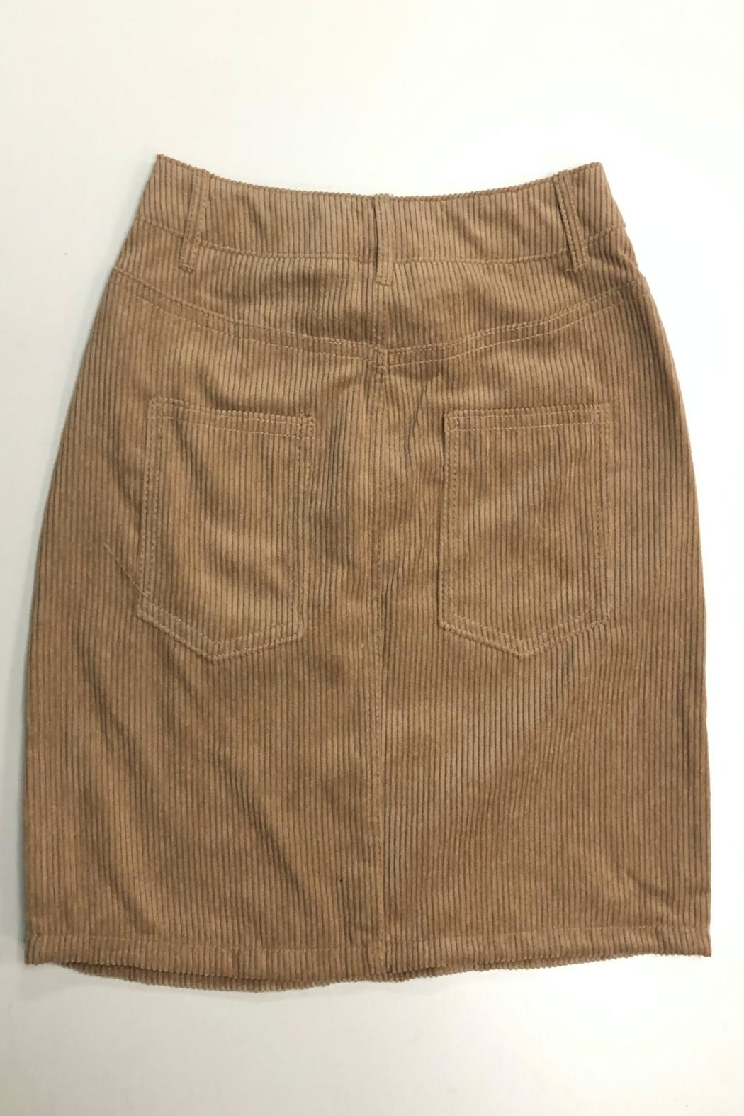 ambiance apparel Corduroy Skirt - Main Image