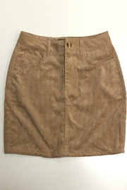 ambiance apparel Corduroy Skirt - Back cropped