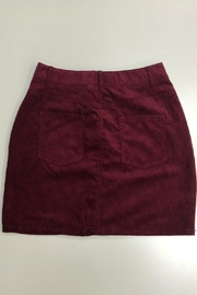 ambiance apparel Corduroy Skirt - Front full body