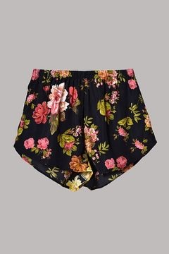 ambiance apparel Floral Print Shorts - Alternate List Image