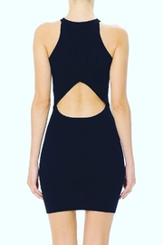 ambiance apparel Open-Back Ribbed Lbd - Product Mini Image