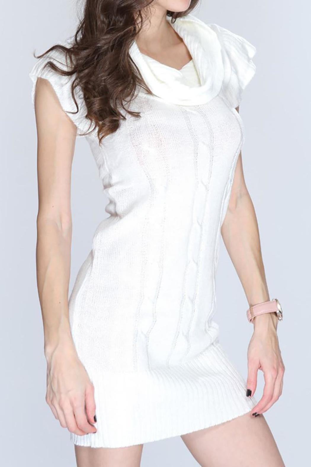 ambiance apparel White Sweater Dress from Pennsylvania by Empire ...