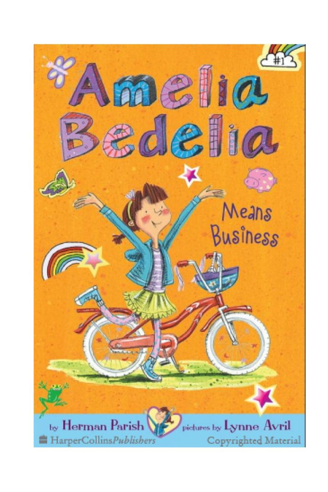 Harper Collins Publishers Amelia Bedelia Book#1 - Front Cropped Image