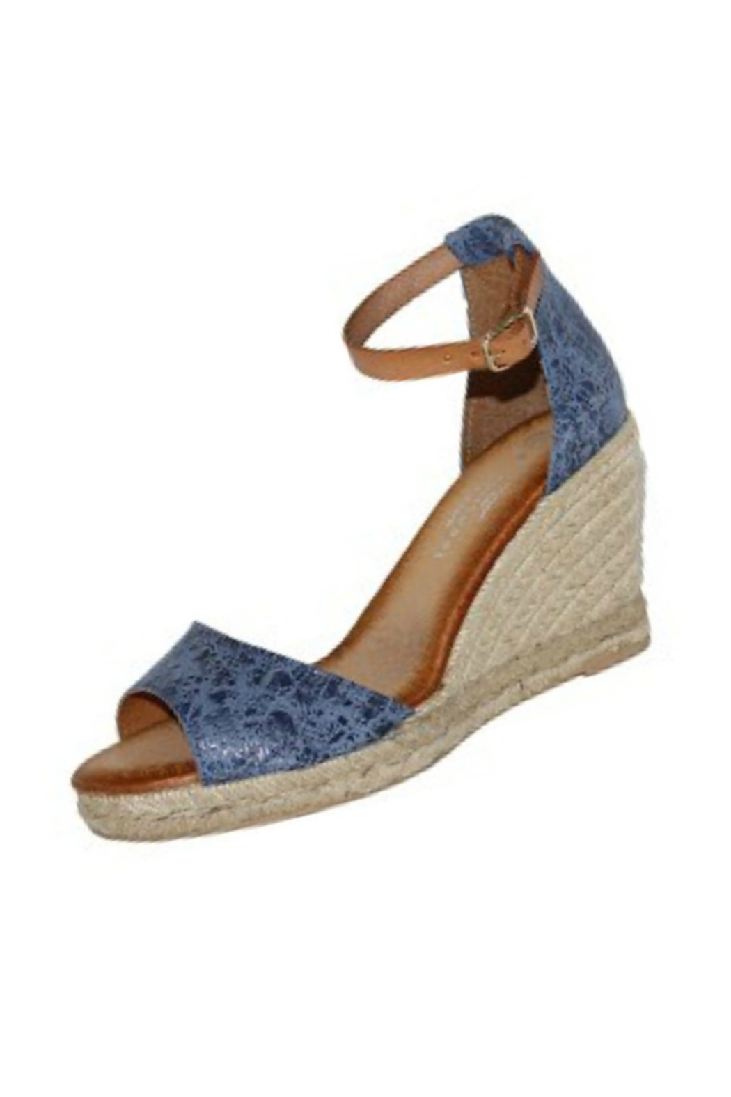 892f91259bad Eric Michael Amelia Blue Espsadrille from Naples by Petunias of ...
