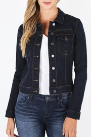 Kut from the Kloth AMELIA DENIM JACKET - Product Mini Image