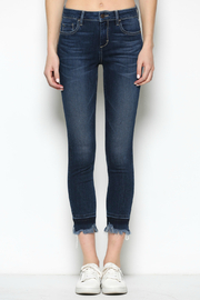 Hidden Jeans Amelia Frayed Hem Jean - Product Mini Image