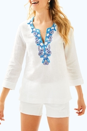 Lilly Pulitzer Amelia Island Tunic - Front cropped