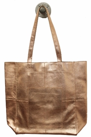 Latico Leathers Amelia Metallic Tote - Product Mini Image
