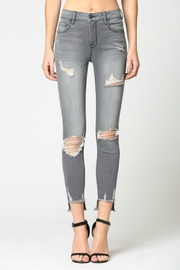Hidden Jeans Amelia Mid Rise Grey - Product Mini Image