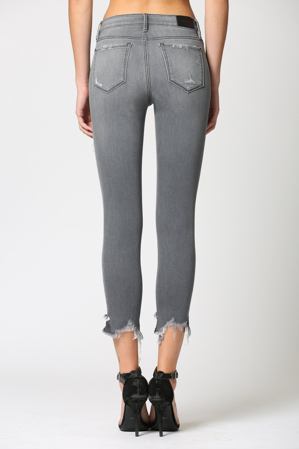 Hidden Jeans Amelia Mid Rise Skinny - Side Cropped Image