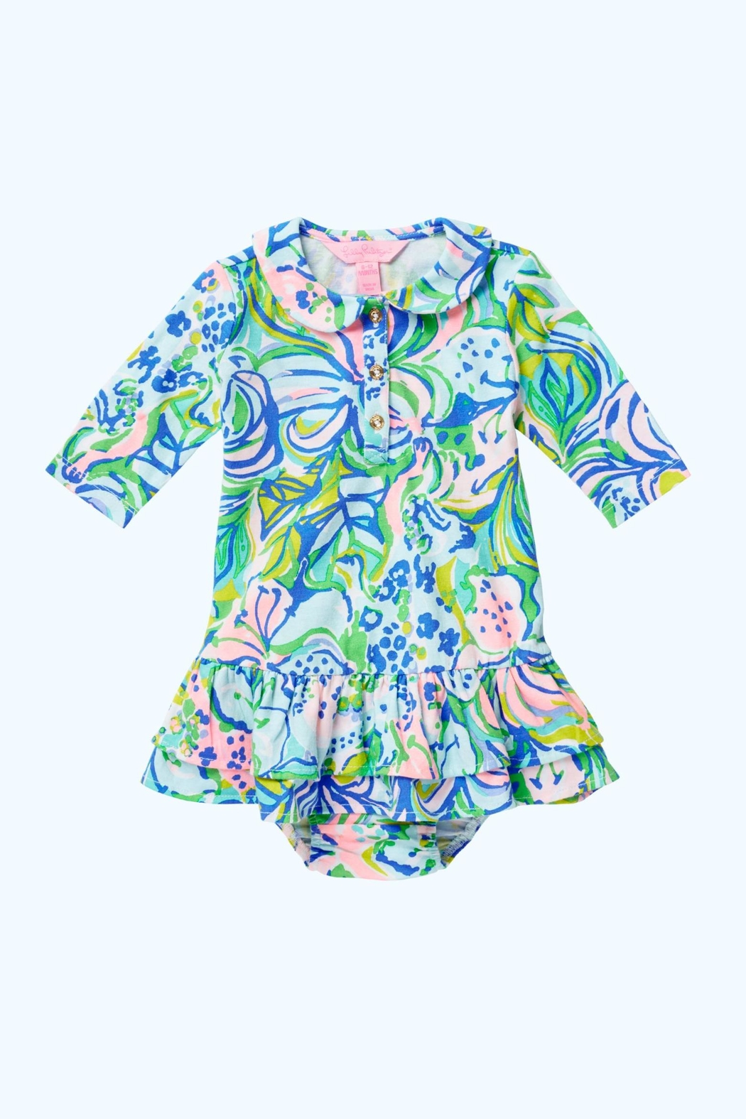 Lilly Pulitzer Amelia Polo Dress - Front Cropped Image