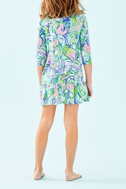 Lilly Pulitzer Amelia Polo Dress - Front full body