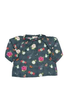 Shoptiques Product: Printed Frilled Blouse