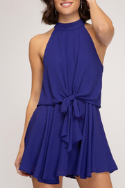 She & Sky  Amelia Romper - Front cropped