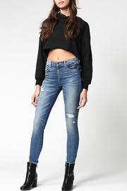 Hidden Jeans Amelia Uneven Waistband Skinny Jean - Product Mini Image