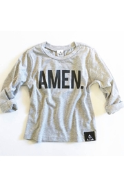 TRILOGY DESIGN CO Amen L/S Tee - Front cropped