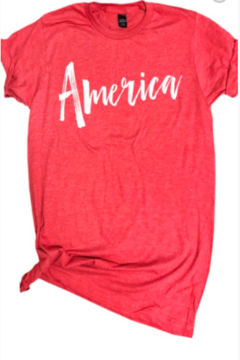 new vintage America Heather Tee - Alternate List Image