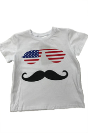 Lady's World America Mustache Tee - Product Mini Image