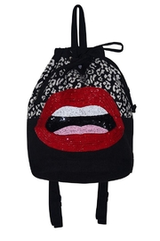 America & Beyond Lips Backpack - Product Mini Image