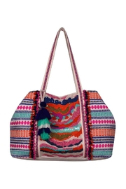 America & Beyond Marigold Stripe Tote - Product Mini Image