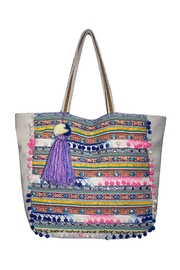 America & Beyond Sunshine Pompom Bag - Product Mini Image