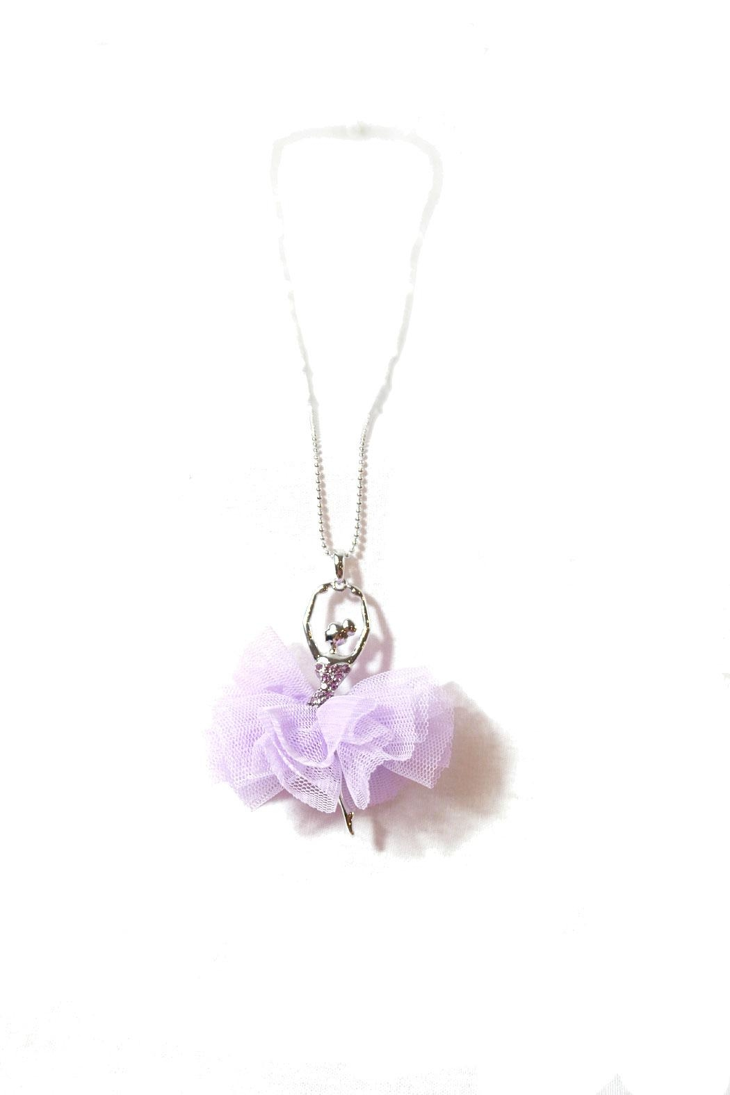 American Ballerina Tutu Necklace - Front Full Image