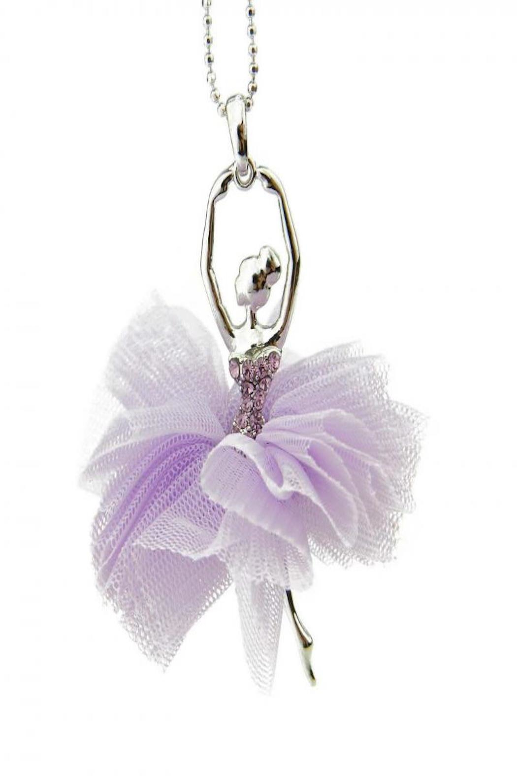 American Ballerina Tutu Necklace - Front Cropped Image