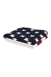 In2Green American Flag Eco Throw Blanket - Front full body