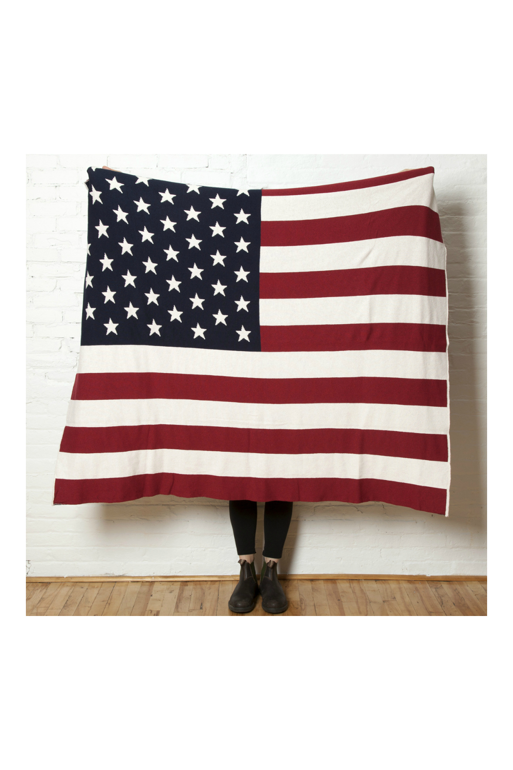 In2Green American Flag Eco Throw Blanket - Main Image