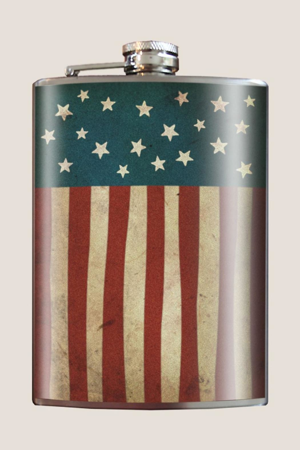 Trixie & Milo American Flag Flask - Main Image