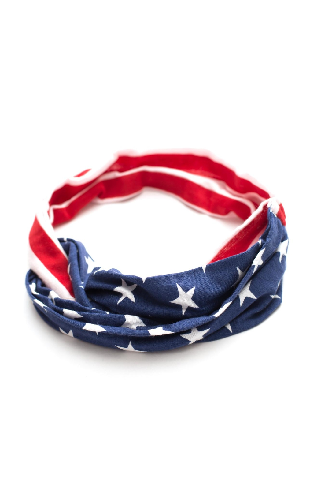 May 23 American Flag Headband - Front Cropped Image