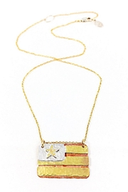 Jill Massey Couture American Flag Necklace - Front cropped