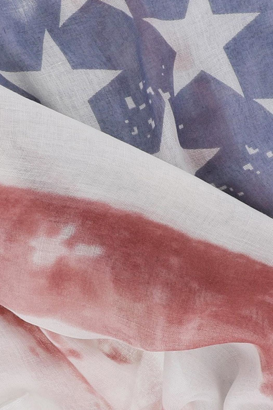Look American Flag Scarf - Front Full Image
