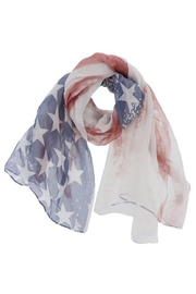 Look American Flag Scarf - Front cropped