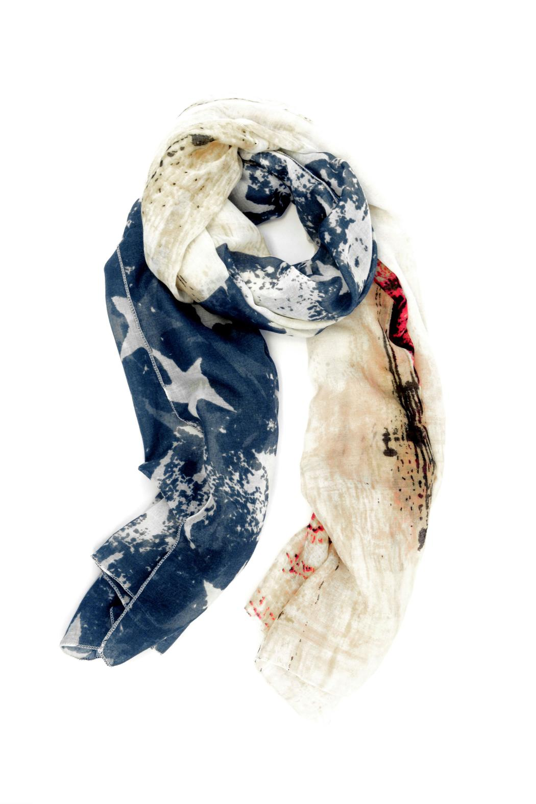 Moxy Boutique American Flag Scarf - Main Image