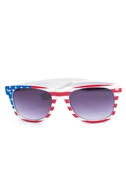 Ocean and Land American Flag Sunglasses - Product Mini Image