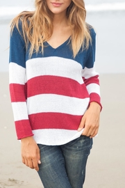 Wooden Ships American Flag Sweater - Product Mini Image