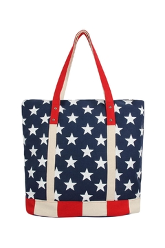 Shoptiques Product: American-Flag Tote-Bag