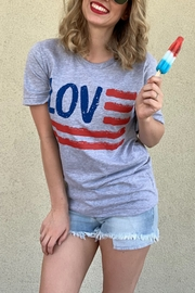 kissed Apparel American Love graphic tee - Product Mini Image