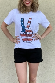 kissed Apparel American Peace graphic tee - Product Mini Image